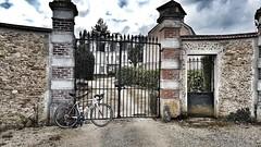 Tigeaux Castle in Seine & Marne (March 2018) (jonathan.kraus30) Tags: iamspecialized speciallezallez shimano fulcrumwheels seineetmarne tigeaux castle nature roadbike bike cloudy garmin specialized sunday