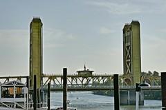Sacramento Lift Bridge (en tee gee) Tags: liftbridge towers river water sacramento