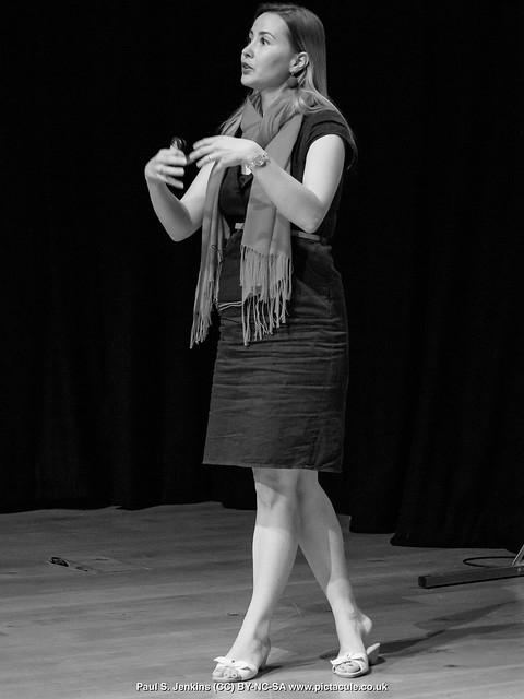 P8300147 Joanna Bagniewska at Winchester Skeptics