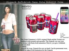 Verkauf Six cola Schrill (Caroline Planer) Tags: ultra can cans dosen drinks drinking refreshing cola coke lemonade orange lemon sprudel sixpack