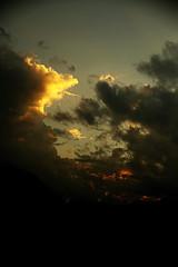 tramonto (il goldcat) Tags: goldcat tramonto sundown clouds nubi