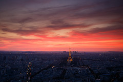 20180804-Canon EOS 750D-1792 (Bartek Rozanski) Tags: paris iledefrance france roofs city urban afternoon french tower eifel sunset ladefense modern evening panorama street lights