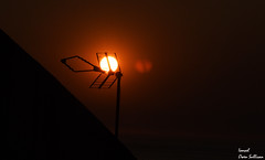 Red sun (Ismael Owen Sullivan) Tags: sun sunset red orange naranja rojo sol nikon nature foto fotografia sombras silueta shadow galicia españa pontevedra europa europe dark d5300 digital photography antena