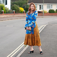 What to Wear to a Wedding Reception as an Evening Guest: A mixed pattern dress in floral and leopard print, Rixo London style | Not Dressed As Lamb, what to wear over 40 (Not Dressed As Lamb) Tags: leopard print pattern mixing mixed prints floral rixo london fashion style aw18 blogger