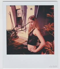 Get off my Lawn! (RickB500) Tags: portrait rickb rickb500 nastya paloma dasha cute blonde nudeart cupa girl vintage film analog polaroid pola