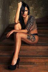 Lili (par Syl) Tags: 2018 flash fashion femme glamour lili lingerie mode nude portrait sexy strobisme studio women