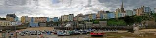 Tenby Harbour Panorama 1