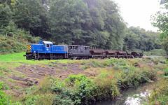D9521. (curly42) Tags: d9521 class14 preservedhydraulicloco paxman railway transport freight dfr railwaypreservation deanforestrailway dfrdieselgala2018