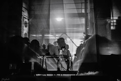 Lucrecia Dalt (Sebastian Sighell) Tags: blackwhite blackandwhite monochrome atonal atonal2018 berlin berlinatonal berlinatonal2018 concert photography doubleexposure fujifilm music people lowlight