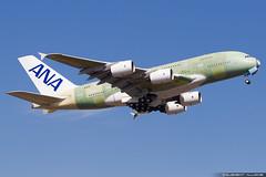 All Nippon Airways ANA Airbus A380-841 cn 262 F-WWSH // JA381A (Clément Alloing - CAphotography) Tags: all nippon airways ana airbus a380841 cn 262 fwwsh ja381a toulouse airport aeroport airplane aircraft flight test canon 100400 spotting tls lfbo aeropuerto blagnac aeroplane engine sky ground take off landing 1d mark iv