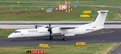DHC-8 | D-ABQJ | DUS | 20180909 (Wally.H) Tags: bombardier dehavillandcanada dhc8 dash8 dabqj eurowings dus eddl dusseldorf airport