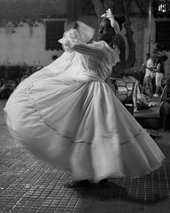 Street Scenes (OneEighteen) Tags: cartagenadeindias colombia streetphotography night dancer whitedress