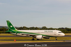 Iraqi Airways YI-ARD A320-200 (IMG_9989) (Cameron Burns) Tags: iraqiairways iraqi airways ia iaw yiard airbus airbus321 airbus321200 a321 a321200 mmx malmo sweden green white iraq manchester airport manchesterairport man egcc ringway viewing park airfield aviation aerospace airliner aeroplane aircraft airplane plane canoneos550d canoneos eos550d canon550d canon eos 550d uk united kingdom unitedkingdom gb greatbritain great britain europe action