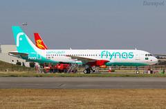F-WWDF Airbus A320 Néo FLYNAS (@Eurospot) Tags: airbus a320 a320neo flynas toulouse blagnac fwwdf hzns22