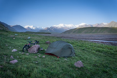 First night in Kyrgyzstan