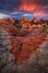 Bows and Arrows (Ryan_Buchanan) Tags: utah landscape color clouds morning sunrise ryan buchanan exposurescape rock