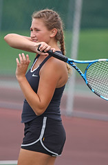 IMG_7589-01 (SJH Foto) Tags: girls high school tennis action shot hempfield teens