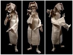 ORIGAMI- ITACHI UCHIHA V.2. (Neelesh K) Tags: origami itachi uchiha naruto anime character tracing paper folding boxpleating neeleshk