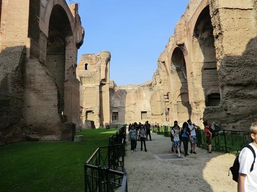 CIMG0397 Baths of Caracalla, in Caracalla