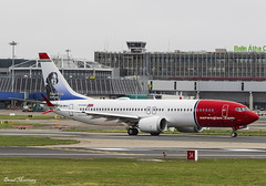 Norwegian Air Shuttle (Oscar Wilde) 737 Max 8 LN-BKA (birrlad) Tags: dub dublin international airport ireland aircraft aviation airplane airplanes airline airliner airlines airways taxi taxiway takeoff departing departure runway norwegian norshuttle dy1363 oslo boeing b737 b38m 737 max 8 lnbka oscarwilde livery decals titles