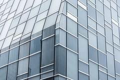 DSC_5806 (deborahb0cch1) Tags: lines architecture building glassbuilding glassandsteel steel window windows line geometric pattern facade monochrome corner glasscorner