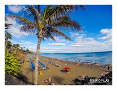 Puerto del Crmen - 2018-6720b (ROBERTO VILLAR -PHOTOGRAPHY-) Tags: photografikarv lzphotografika lanzarotephotográfika photobank imagenesdelanzarote fotosdelanzarote puertodelcarmen beachphoto