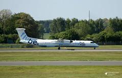 G-ECOT de Havilland Canada DHC-8-402 Dash 8, flybe, Edinburgh Airport, Edinburgh, Scotland (Kev Slade Too) Tags: gecot dehavillandcanada dhc8 dash8 flybe egph edinburghairport edinburgh scotland