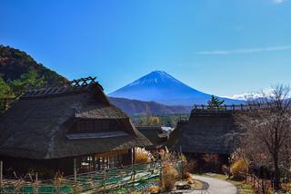 西湖いやしの里根場, Mt. Fuji