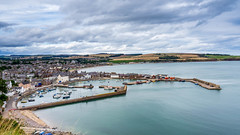 Stonehaven (Gordon Nicoll) Tags: scotland water stonehaven sky landscape scenery coast harbour sea