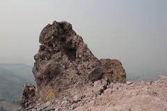 A rock finger, up close (rozoneill) Tags: lassen volcanic national park peak hiking california volcano