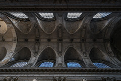 Église Saint-Sulpice Ceiling Paris (Isheywoo!) Tags: sky sunrise ceiling eiffel tower tube arc de triumph details night day reflexions traffic drinks sun water