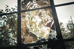 Broken (ElmerstarK) Tags: factory urbex exterieur abandoned window deserté dirty abandonné fenêtre deserted outdoor metalic usine sale contrast fraisses auvergnerhônealpes france fr
