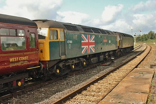 47760 & 47580 at Hellifield - 11th Sept 2018