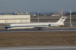 EK-82852, McDonnell Douglas MD-82 Ararat International Airways @ Istanbul-Atatürk IST LTBA