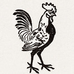 Rooster (1901) by Julie de Graag (1877-1924). Original from the Rijks Museum. Digitally enhanced by rawpixel. thumbnail