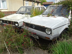 1979 Volkswagen Golf GL 1.5 Diesel (Neil's classics) Tags: vehicle abandoned 1979 volkswagen golf vw