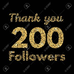 Thank you 200 followers. (Cyber Nemo the Odyssey) Tags: you followers thank thanks like vector follower facebook likes follow card design symbol web banner illustration badges friends gratitude instagram twitter thousand emblem social colorful anniversary text internet label trendy post sticker community love lettering following tweet fans set ten network number