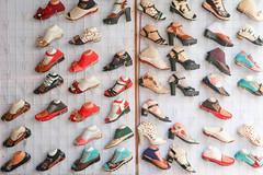 socks and shoes souk (M00k) Tags: tajikistan gharm souk market shoes collection