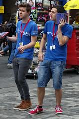 Off Stage (MalB) Tags: outoftheblue ootb edinburgh fringe festival scotland pentax k5 royalmile