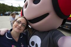 Byrnes visit to Tunbridge Wells Hospital (Kent Fire and Rescue Service) Tags: tunbridge wells woody elsa byrnes hospital partnership selfie community safety public