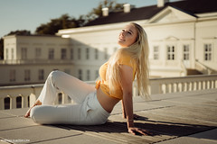 Joy (Andreas-Joachim Lins Photography) Tags: beautiful beauty blonde cute fashion female girl glamour hannover mode outdoor portrait pretty sexy vogue woman young sonyfe55mmf18za sonnartfe1855 people