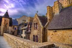 Mont Saint-michel Normandie (angelobrathot) Tags: hdr montsaintmichel normandie france ciel baie mer architecture abbaye