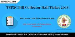 TSPSC-Bill-Collector-Hall-Ticket (tspsc360) Tags: tspsc bill collector hall ticket