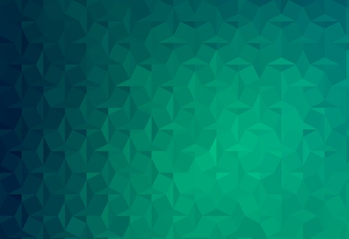 Green Geometric Gradient