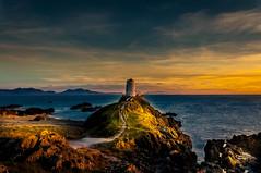 Winding Path (Tony Shertila) Tags: 20170325181834walesangelseyynysllanddwynlr europe britain wales anglesey ynysmôn lighthouse coast shore rocks sunset sea irishsea horizon