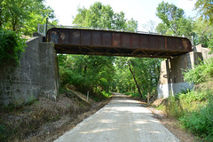 Katy Railroad - Rock Island Bridge (Jim Strain) Tags: jmstrain train railroad railway katy rockisland trail windsor missouri