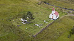 HS180802_12_Mjoifjordur_Iceland_Sue Forbes-2 (hilary225) Tags: aerial brekka church europe fjord flowers harebell iceland landscape mavic mjoifjordur people places village waterfall cottongrass harbour sheep zodiac