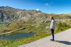 Passo San Gottardo (karlheinz klingbeil) Tags: gebirge strumpfhose menintights see tights fashion berg lake mode alpen suisse collant swissalps schweiz schweizeralpen manninstrumpfhose water wasser switzerland airolo tessin ch