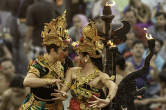 Bali - Ulawatu (Nat_L2_photographies) Tags: bali ulawatu danses kecak dancers feu ramayana hanuman