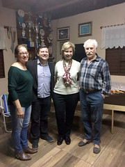 31/08/18 - Encontro com o vereador Cleberson Gardin e lideranças de Santa Rosa e região.